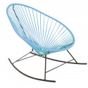Blue Acapulco rocking chair