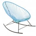 fauteuil à bascule Acapulco Bleu