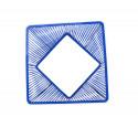 zoom MarineBlau design quadrat gartentisch