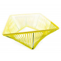 Detail Lemon Yellow Outdoor coffee table