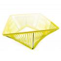 Detalle Mesa de Jardin Limon Amarillo