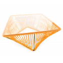 Detail orange Outdoor coffee table