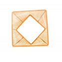 zoom Orange design quadrat gartentisch