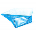 sky blue square coffee table