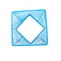 zoom Blau design quadrat gartentisch