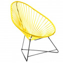 Acapulco Imperial Yellow Chair and Black frame