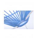 Blauer Himmel Acapulco Stuhl Weiß Struktur