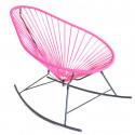 fauteuil à bascule Acapulco Rose