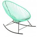 fauteuil à bascule Acapulco Vert Turquoise
