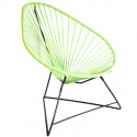 Acapulco Anise Chair and Black frame