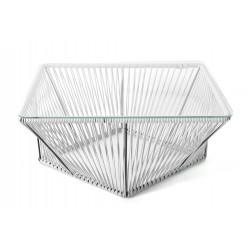 Mesa de centro rectangular