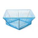 sky blue Rectangle coffee table