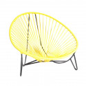 Yellow Tulum Lounger