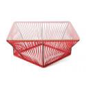 Rot design Rechteck Couchtisch