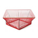 Table basse design Rouge