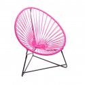 silla acapulco para niños Fucsia