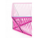Detail magenta outdoor Table