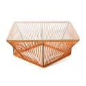 orange design coffee table