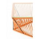 Détail Table basse Rectangle Orange