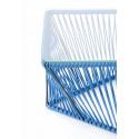 Detalle Mesa de Jardin Azul Marino