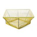 Table basse design Jaune Moutarde
