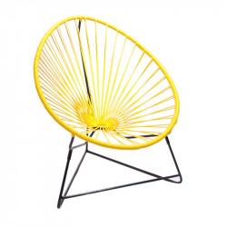 Yellow acapulco kids chair