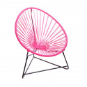 Pink acapulco kids chair