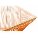 Detail orange Outdoor coffee table