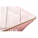 Detail pastel pink Outdoor coffee Large Table