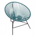 fauteuil Huatulco Bleu Ocean