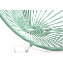 White Green Kids Acapulco White Frame chair