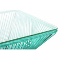 Très grande table design Vert Turquoise