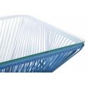 Très grande table design veracruz Bleu Nuit