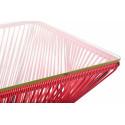 Détail de Très Grande table design veracruz Rouge