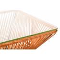 Détail de Très Grande table design veracruz Orange
