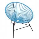 fauteuil Huatulco Bleu