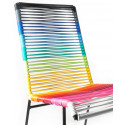 Chaise Mazunte rainbow