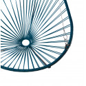 Details of ocean Blue Acapulco hanging chair