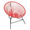 fauteuil Huatulco Rouge