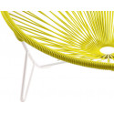 Coils Lemon Yellow Tulum Chair