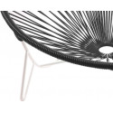 Coils Black Tulum Chair