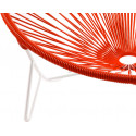 Coils Red Tulum Chair