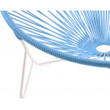 Coils sky blue Tulum chair