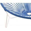 detail stuhl white frame und MarineBlau Tulum stuhl
