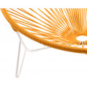 Coils orange Tulum Chair