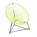 silla acapulco para niños Verde