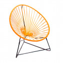orange acapulco kids chair