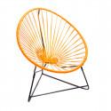 orange acapulco kids chair