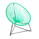 Turquoise acapulco kids chair
