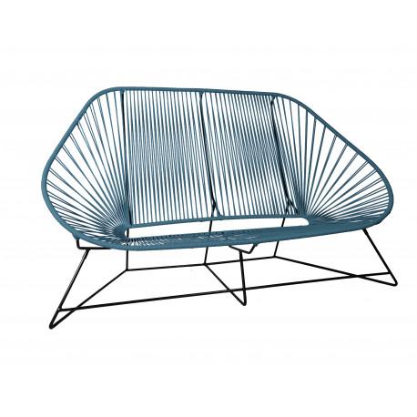 amazing canap acapulco places bleu canard with fauteuil acapulco vert d eau. Black Bedroom Furniture Sets. Home Design Ideas